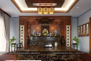 19 Mẫu nội thất phòng thờ biệt thự tân cổ điển mặt tiền 10m tại hà nội sh btp 0132
