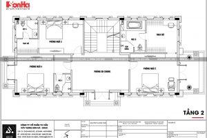 22 Mặt bằng công năng tầng 2 biệt thự tân cổ điển đẹp tại hà nội sh btp 0132