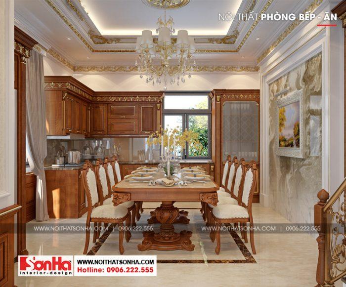 Cách bố trí phòng bếp ấn tượng với đồ nội thất lựa chọn phù hợp