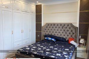 6 Ảnh thực tế nội thất phòng ngủ đẹp khu nhà phố kinh doanh shophouse vạn phúc hà nội