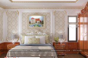 6 Mẫu nội thất phòng ngủ 1 tân cổ điển khu đô thị Senturia Vườn lài An Phú Đông Sài Gòn