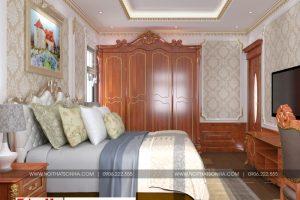 7 Thiết kế nội thất phòng ngủ 1 đẹp khu đô thị Senturia Vườn lài An Phú Đông Sài Gòn