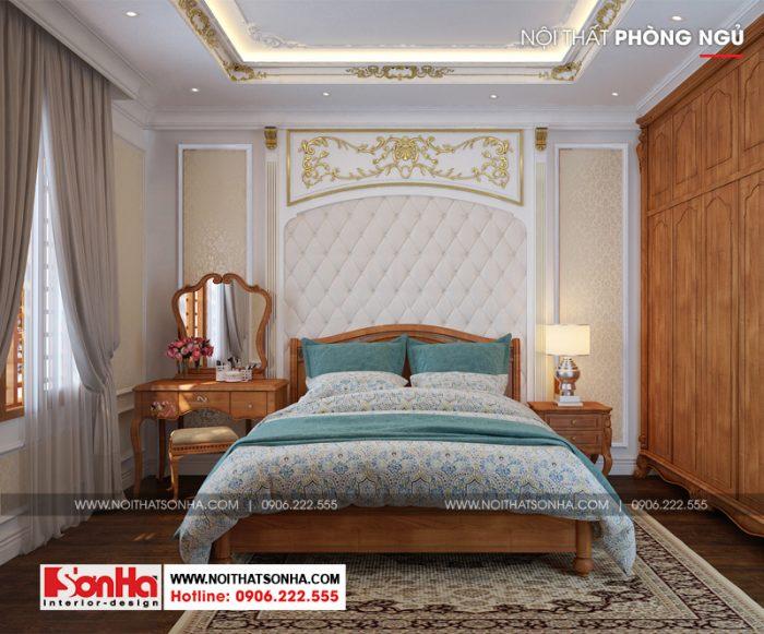 Mẫu phòng ngủ đẹp diện tích vừa phù hợp cho biệt thự tiện nghi