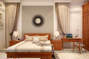 9 Mẫu nội thất phòng ngủ 1 biệt thự tân cổ điển đẹp tại hà nội sh btp 0132
