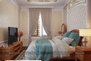 9 Thiết kế nội thất phòng ngủ 2 đẹp khu đô thị Senturia Vườn lài An Phú Đông Sài Gòn