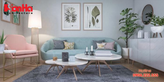 Không gian đậm phong cách vintage với cách thiết kế phòng khách độc đáo