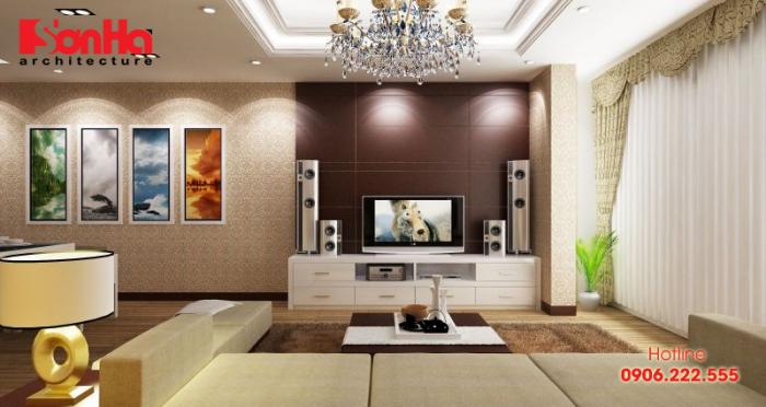 Không gian phòng khách đẹp phù hợp với người cung Song Tử