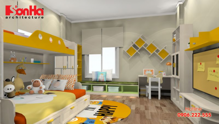Làm thế nào để có phòng ngủ cho bé khích lệ sáng tạo để bé phát triển toàn diện