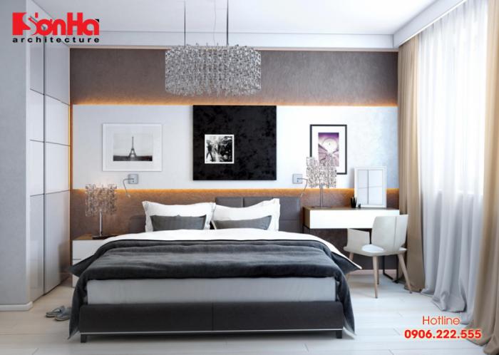 Một trong những mẫu phòng ngủ truyền cảm hứng cho chủ nhân căn phòng