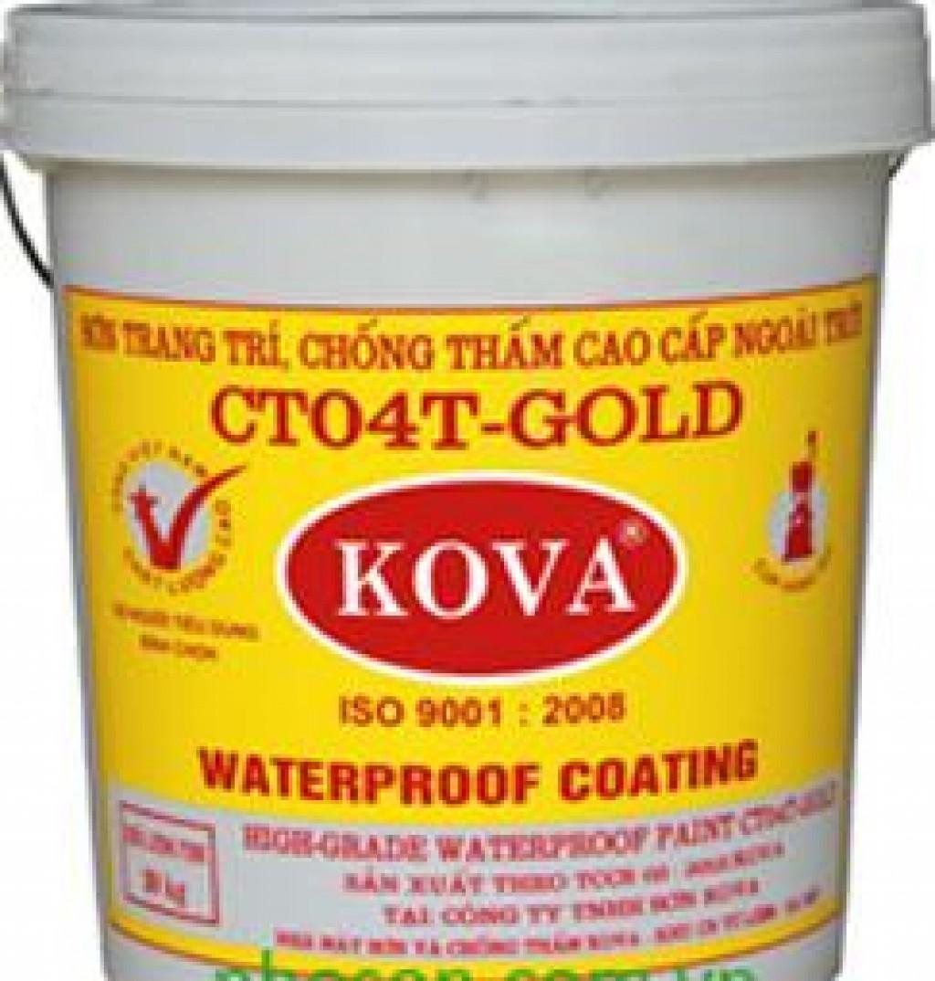 Sơn Kova là một trong những loại sơn chống thấm được ưa chuộng nhất hiện nay