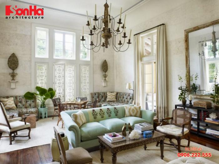 Thêm một ý tưởng độc đáo để bạn chọn cách thiết kế phòng khách Vintage