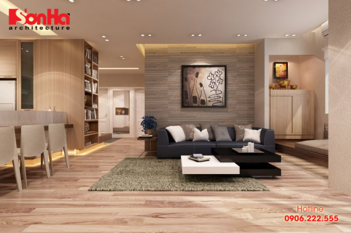 Thiết kế phòng khách phù hợp mệnh và tuổi cũng rất quan trọng