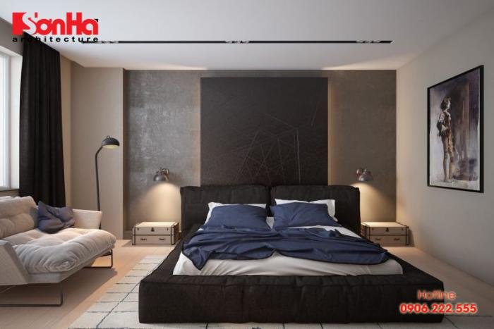 Thiết kế phòng ngủ hiện đại diện tích 18m2 với những gam màu ấm áp