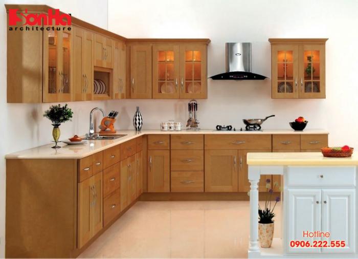 Trang trí không gian bếp đẹp và phong thủy đón tài lộc vào nhà