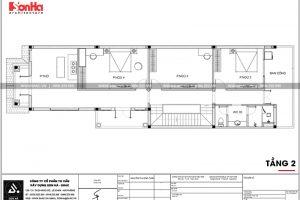 10 Mặt bằng công năng tầng 2 nhà ống tân cổ điển đẹp tại phú thọ sh nop 0184