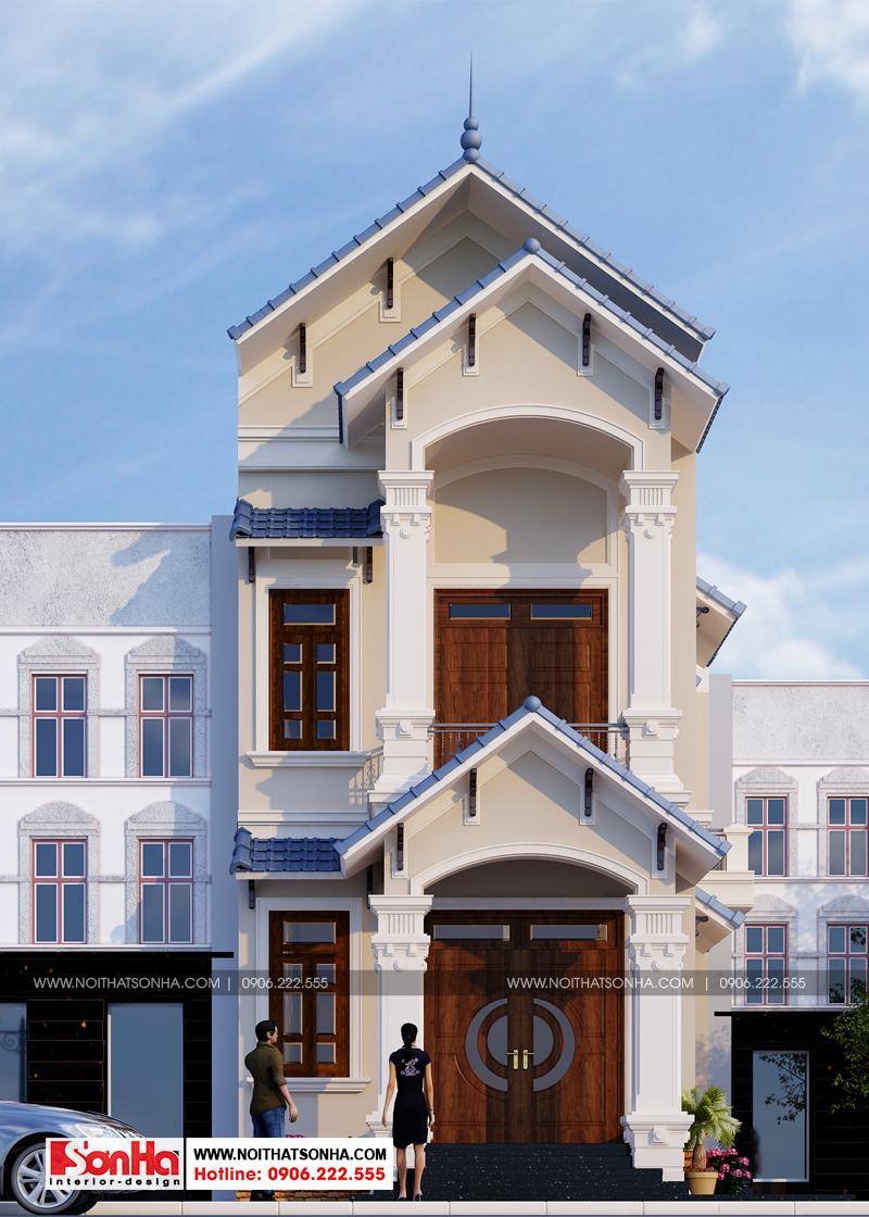 Ngôi nhà phố không chỉ sở hữu kiến trúc khang trang mà còn cả nội thất tiện nghi