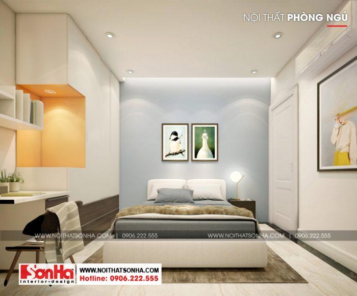 Đồ nội thất được tạo hình khoa học và thông minh phù hợp với diện tích hẹp