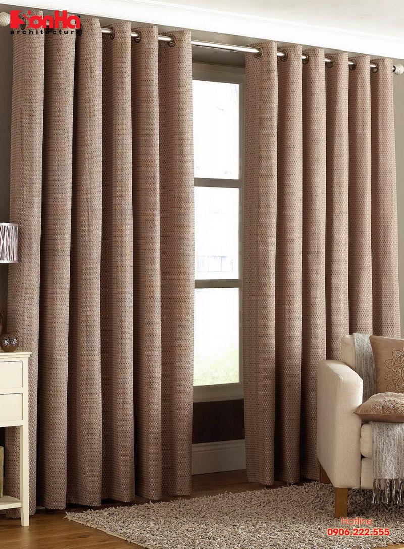 Cách chọn rèm cửa sổ trang trí nội thất phong thủy theo hướng cửa