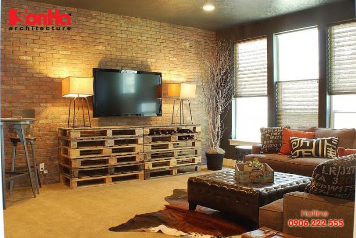 Lựa chọn chất liệu của nội thất phù hợp sẽ giúp tôn lên vẻ đẹp của phòng khách