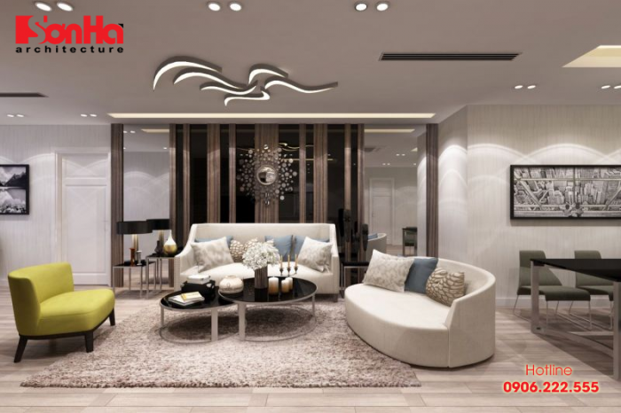 Mẫu nội thất phòng khách đẹp cho người tuổi Nhâm Thìn