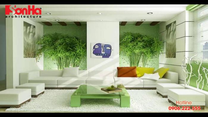 Màu sơn phong thủy cho người mệnh Mộc với thiết kế nội thất đẹp mắt