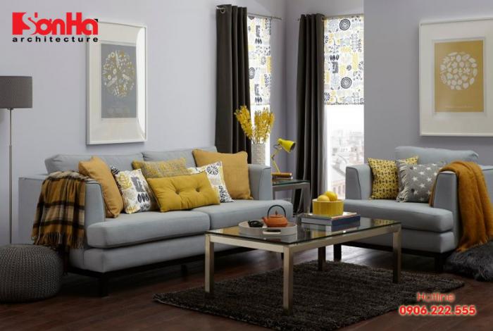 Màu vàng không chỉ quen thuộc trong nội thất mà còn được ưu ái cho ngoại thất