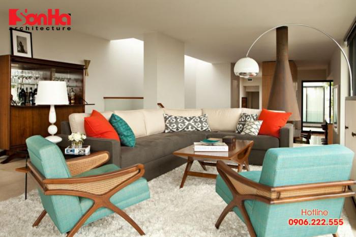 Phong cách nội thất Retro luôn đề cao những nét đẹp hoài cổ và có phần sâu lắng