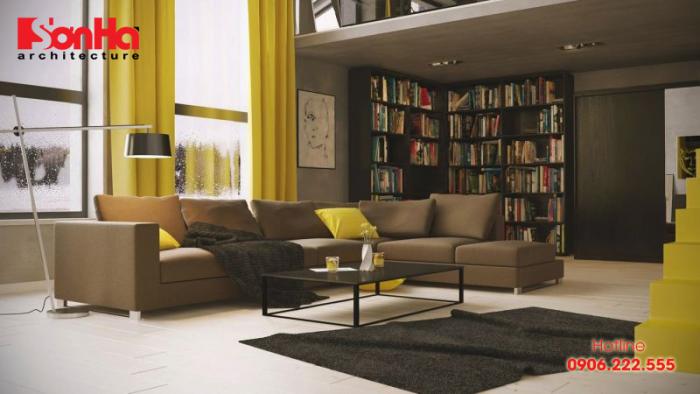 Phòng khách cho người tuổi Giáp Tý có thể chọn những vật dụng bằng kim loại