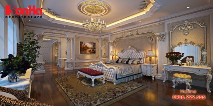 Phòng ngủ master là phòng ngủ chính trong nhà và thường được đầu tư nhiều hơn