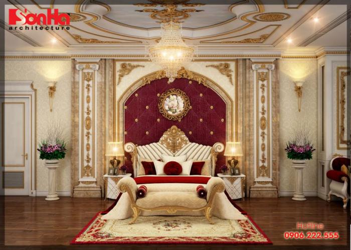 Phòng ngủ phong cách tân cổ điển đẳng cấp