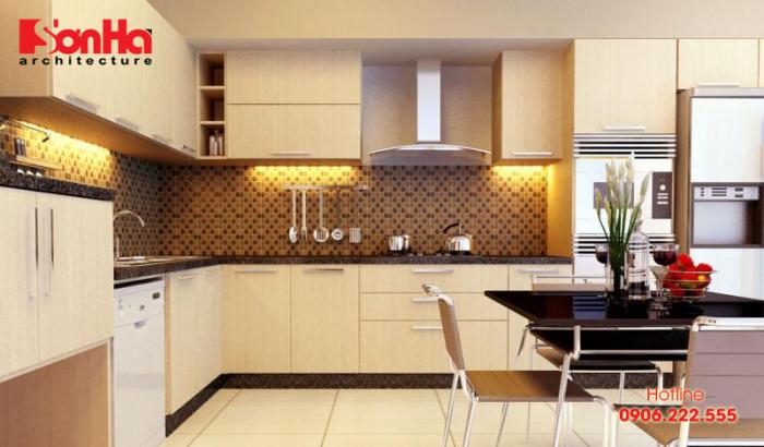Sự lên ngôi của phong cách thiết kế nội thất hiện đại qua không gian bếp