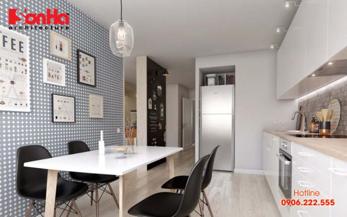 Thêm phương án thiết kế nội thất bếp phong cách hiện đại để bạn tham khảo