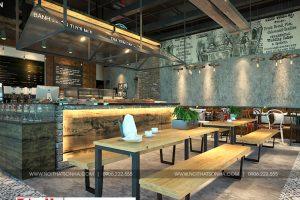 1 Thiết kế nội thất tiệm bánh cafe đẹp tại trung tâm thương mại vinhomes imperia hải phòng
