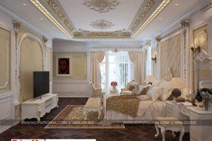 13 Thiết kế nội thất phòng ngủ 3 cổ điển biệt thự lâu đài tại gia lai