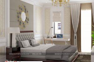 14 Mẫu nội thất phòng ngủ 6 biệt thự tân cổ điển 2 mặt tiền tại quảng ninh sh btp 0127