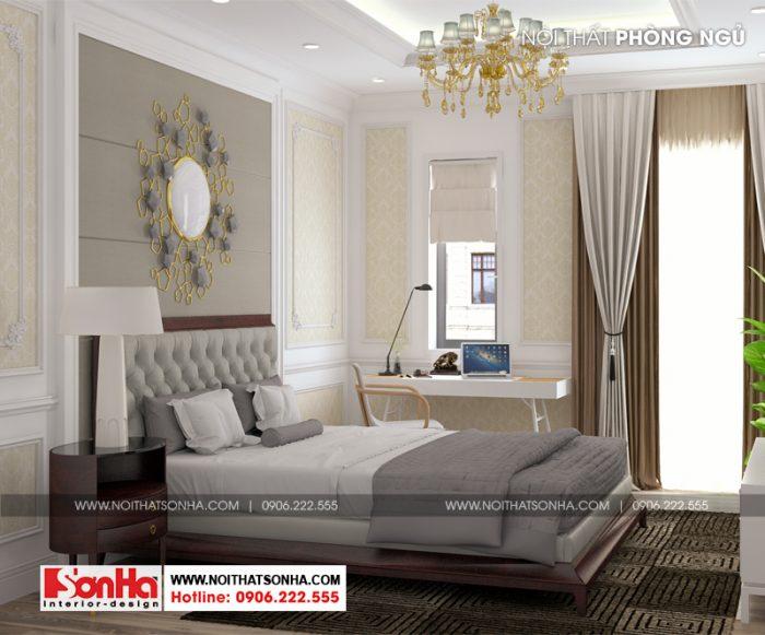 Mỗi phòng ngủ đều được chú ý yếu tố lấy gió lấy sáng tự nhiên tốt nhất