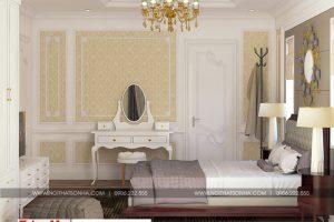 15 Thiết kế nội thất phòng ngủ 7 biệt thự tân cổ điển mái thái tại quảng ninh sh btp 0127