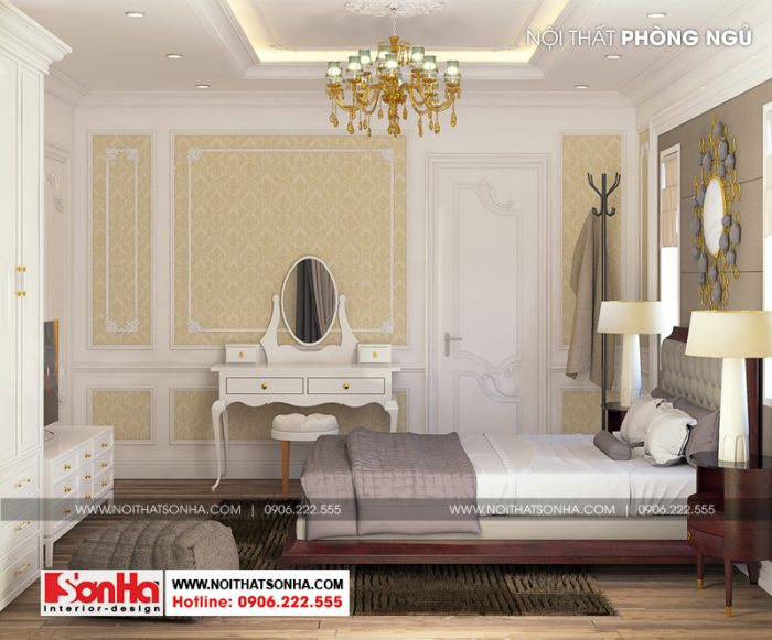 Thêm ý tưởng thiết kế phòng ngủ giản dị nhưng đẹp mắt cho bạn tham khảo