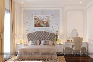16 Mẫu nội thất phòng ngủ 8 biệt thự tân cổ điển tại quảng ninh sh btp 0127