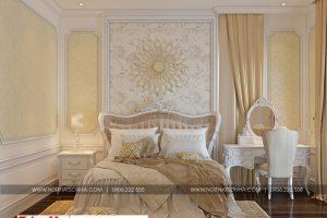 17 Thiết kế nội thất phòng ngủ 9 biệt thự tân cổ điển đẹp tại quảng ninh sh btp 0127