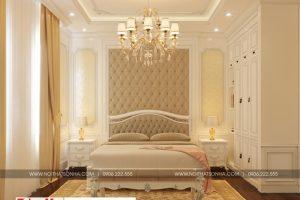 18 Mẫu nội thất phòng ngủ 10 biệt thự tân cổ điển 3 tầng tại quảng ninh sh btp 0127