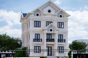 2 Mẫu biệt thự tân cổ điển đẹp tại quảng ninh sh btp 0127