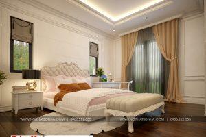 20 Mẫu nội thất phòng ngủ 12 biệt thự tân cổ điển mái thái tại quảng ninh sh btp 0127