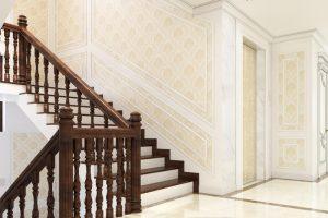 21 Thiết kế nội thất sảnh thang biệt thự tân cổ điển tại quảng ninh sh btp 0127
