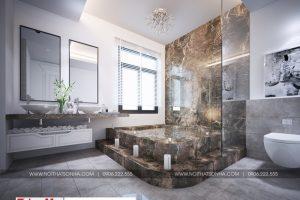 22 Mẫu nội thất phòng xông hơi biệt thự tân cổ điển đẹp tại quảng ninh sh btp 0127