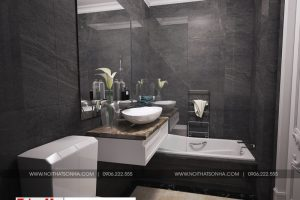 24 Mẫu nội thất phòng tắm wc biệt thự tân cổ điển 3 mặt tiền tại quảng ninh sh btp 0127