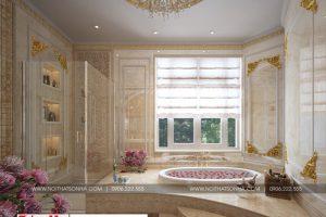 26 Mẫu nội thất phòng tắm wc cổ điển biệt thự lâu đài xa hoa tại gia lai
