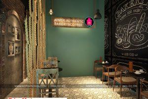 3 Thiết kế nội thất tiệm bánh cafe 170m2 tại trung tâm thương mại vinhomes imperia hải phòng