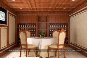 4 Mẫu nội thất hầm rượu biệt thự tân cổ điển 2 mặt tiền tại quảng ninh sh btp 0127