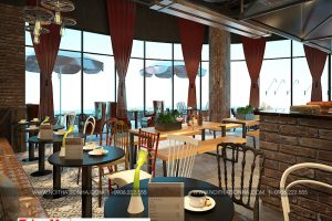 4 Mẫu nội thất tiệm bánh cafe đẹp tại trung tâm thương mại vinhomes imperia hải phòng